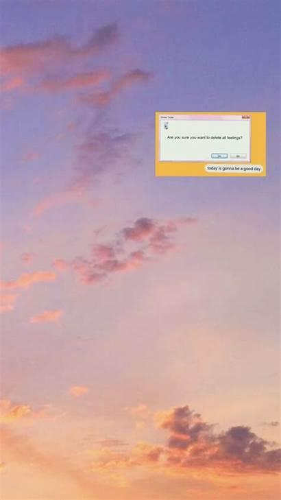 Aesthetic Wallpapers Orange Desktop Grunge Iphone Backgrounds