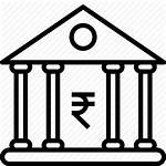 Bank Indian Icon Rupee Currency Money Finance
