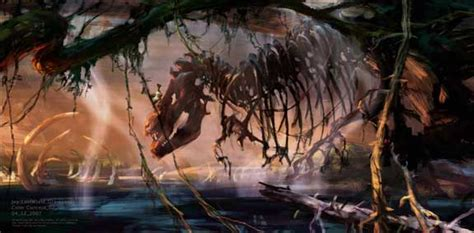 concept art backgrounds  ice age