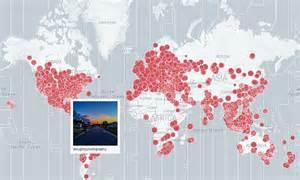 yesterdays map lets sunrise sunset instagram