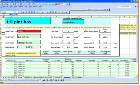 excel inventory tracking template db excelcom