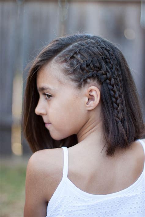 braids  short hair cute girls hairstyles