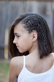 Cute Girls Hairstyles Braids Short Hair