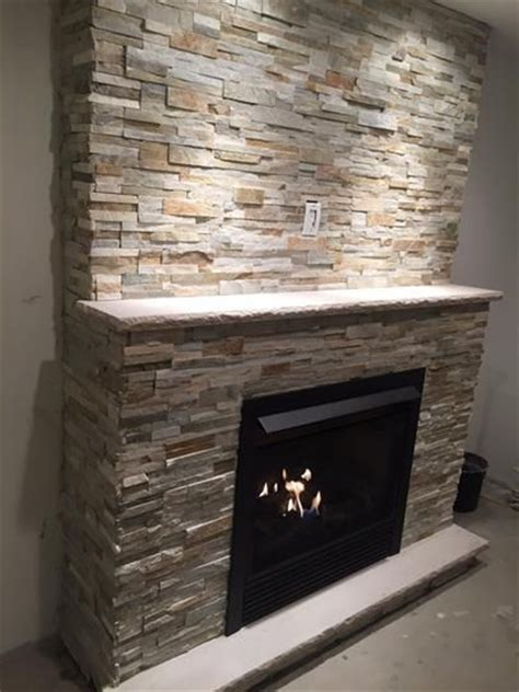 Home Depot Wall Tile Fireplace by Ms International Golden Honey Ledger Panel 6 In X 24 In