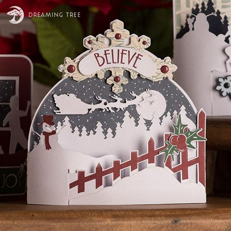 Available in many file formats including max, obj, fbx, 3ds, stl, c4d, blend, ma, mb. Believe Bendi Card SVG | Cricut christmas cards, Christmas ...