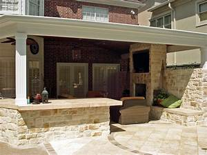 Covered outdoor kitchen kitchen decor design ideas for Kitchen patio ideas