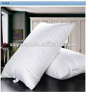 wholesale hotel siliconized polyester fiber pillow inner With cheap pillow inserts in bulk