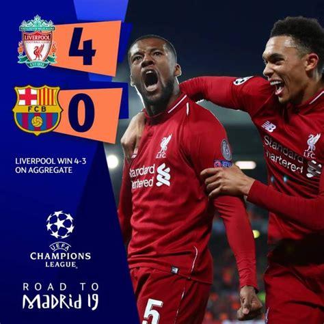 Champions League : Incroyable mais vrai, Liverpool en ...