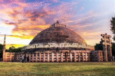 sanchi stupa india buddhist heritage history its monuments madhya pradesh monument ancient indian