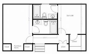 jack jill bathroom ideas on pinterest With bathroom between two bedrooms