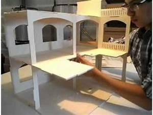 Faire Construire Une Maison : construire une maison de poup e rosine minicrea youtube ~ Farleysfitness.com Idées de Décoration