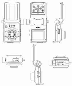 1080p mini hd gps dash camera with lcd gse550 dash With black box diagram