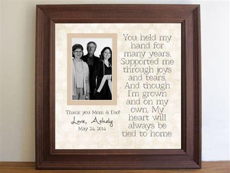 graduation custom picture frame  parents graduation