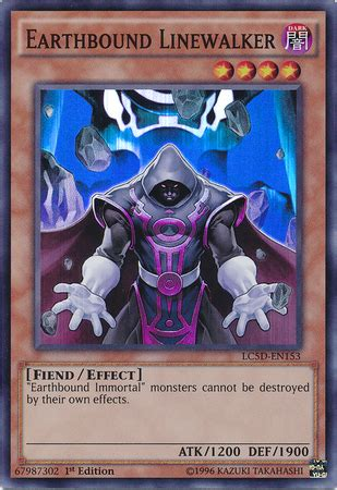 Yugioh Earthbound Immortal Deck by Earthbound Linewalker Yu Gi Oh