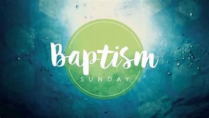 Baptism Sunday Water Baptized Child Would Graphics