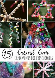 15 Easy, Gorgeous Christmas Ornaments for Kids - Happy
