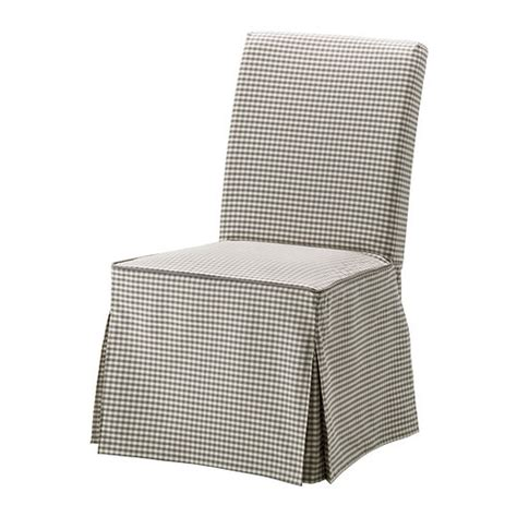 country kitchen furniture stores ikea henriksdal chair slipcover cover skirted sagmyra gray