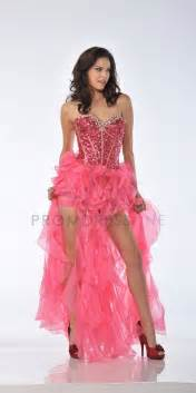 sparkly bridesmaid dresses watermelon pink sparkly sequin strapless sweetheart bodice with organza ruffled layered prom
