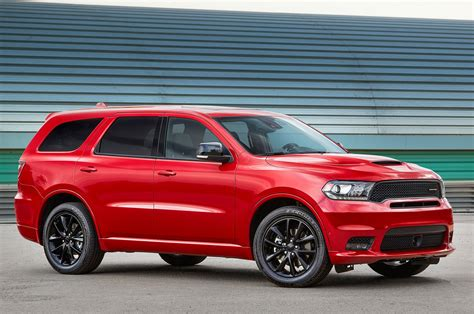 2018 Dodge Durango Rt And Srt Gets Stripes And More Mopar