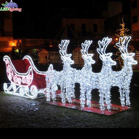 lighted christmas sleigh decoration psoriasisgurucom