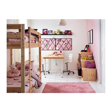 mydal bunk bed mydal bunk bed frame pine 90x200 cm ikea