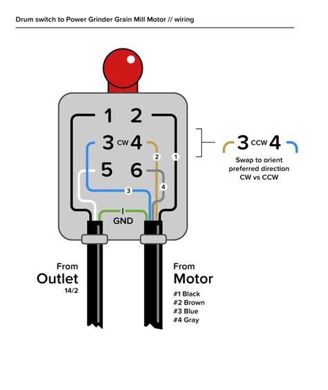 Need Some Help Wiring Motor Drum Switch Plz