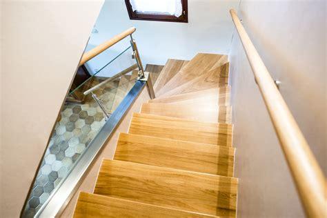 le bureau blanche garde corps escalier design et verrière sur mesure en