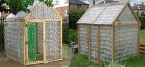 Fabriquer Une Serre En Bois : construire une serre en bouteilles plastique ~ Melissatoandfro.com Idées de Décoration