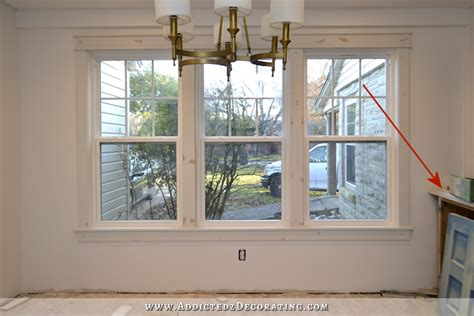 Breakfast Room Windows All Trimmed Out Make A Curtain Without Sewing Shower Rod Stay Diy Around Bathroom Sink Matching Bedding And Sets Curtains Blinds Geelong Round Rail Ireland Best Place To Put Rods Red Eyelet Next