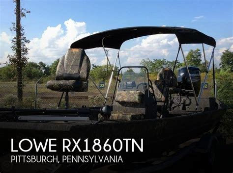 Jon Boats For Sale Pittsburgh Pa by Used Aluminum Fish Lowe Boats For Sale Boats
