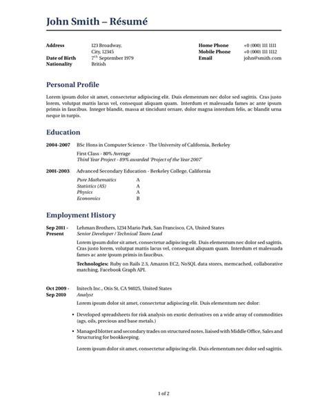 resume sles in latex latex cv template mit printable receipt template