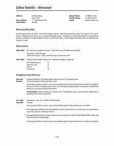 latex templates curricula vitae resumes With cv resume