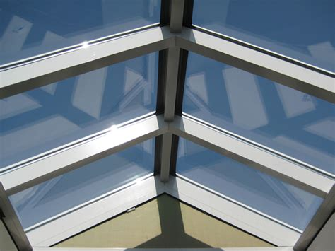 lichtkoepels in glas lichtstraat in glas lichtkoepels