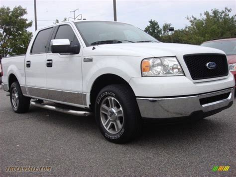 ford truck white 2006 ford f150 xlt supercrew in oxford white a91268