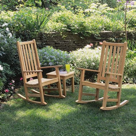Oxford Garden by Oxford Garden Franklin Rocker Seating With Cushions