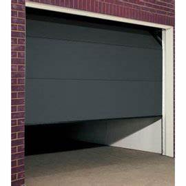 porte de garage castorama isolation idees With porte garage sectionnelle castorama