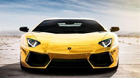 Wallpaper Lamborghini Aventador Lp700-4 Yellow Supercar