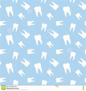 Seamless Teeth Dental Pattern Stock Vector - Illustration ...
