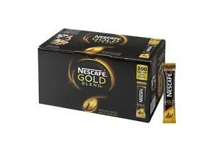 We use natural, high quality roasted coffee beans. NESCAFÉ Gold Blend Instant Coffee Stick Packs, Box of 200 | eBay