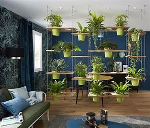 Plante De Salon : cinq id es pour mettre en sc ne vos plantes d 39 int rieur ~ Teatrodelosmanantiales.com Idées de Décoration