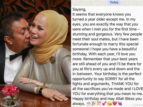 happy birthday  love  datin rabecca teruja
