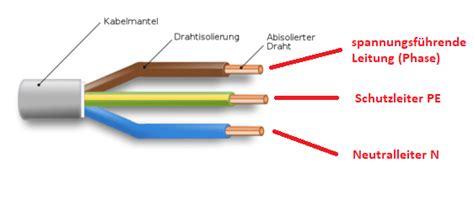 farbe n leiter anschlie 223 en bei der elektroinstallation anleitungen