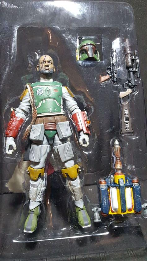 custom fantasy unmasked boba fett rotj star wars custom