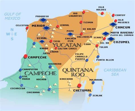 cenote yucatan carte vacances arts guides voyages