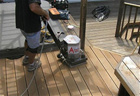 drum floor sander for deck the ultimate guide for how to stain a deck step by step
