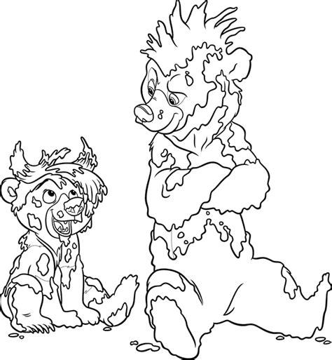 hermano oso dibujos  colorear disneydibujoscom