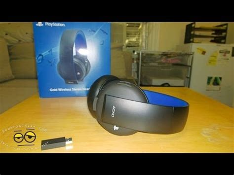 headset ps4 test gold wireless stereo headset for ps4 ps3 review mic test