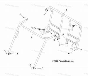 Polaris Side By Side 2014 Oem Parts Diagram For Chassis