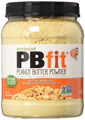 Amazon.com : BetterBody Foods PB Fit Powder, Peanut Butter