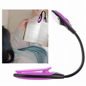 Lampe Pince Lit : lampe de lecture flexible pour voyage transports bricolage ~ Teatrodelosmanantiales.com Idées de Décoration